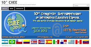 X Congreso Iberoamericano de Informática y Educación Especial - CIIEE- Año 2013