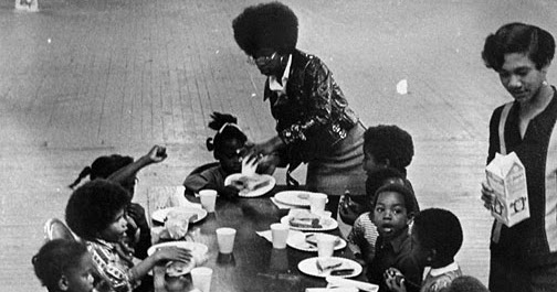 Black Panthers Free Food Program
