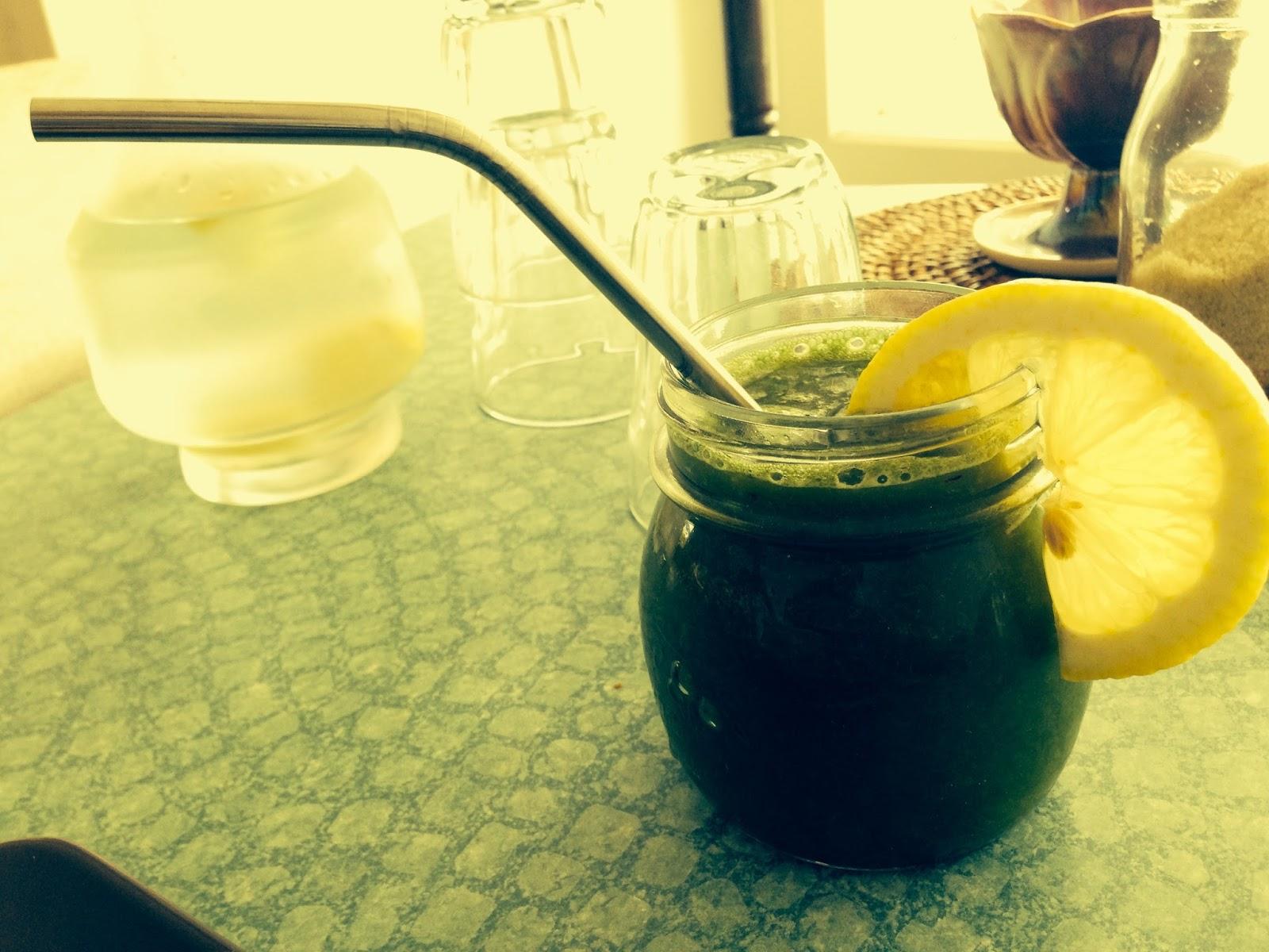Juice at Nettle Raw Cafe, West Croydon