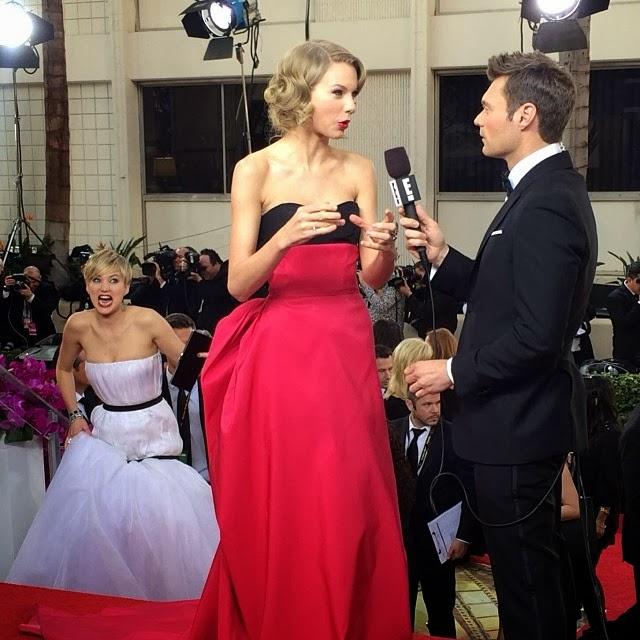 Imágenes hilarantes de Jennifer Lawrence en Globos de Oro 2014