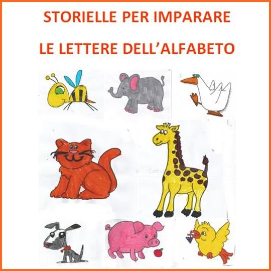 Favori Studiamando liberamente: Storielle per imparare le lettere dell  VJ96