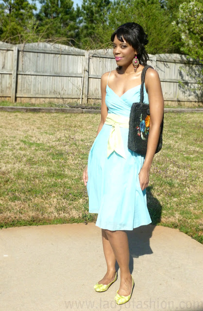 Pastels Fashion Dress