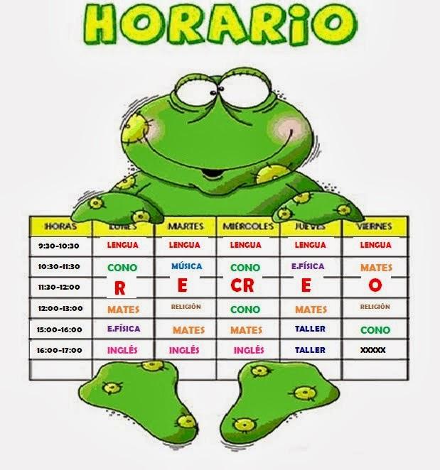 Horario 4ºB