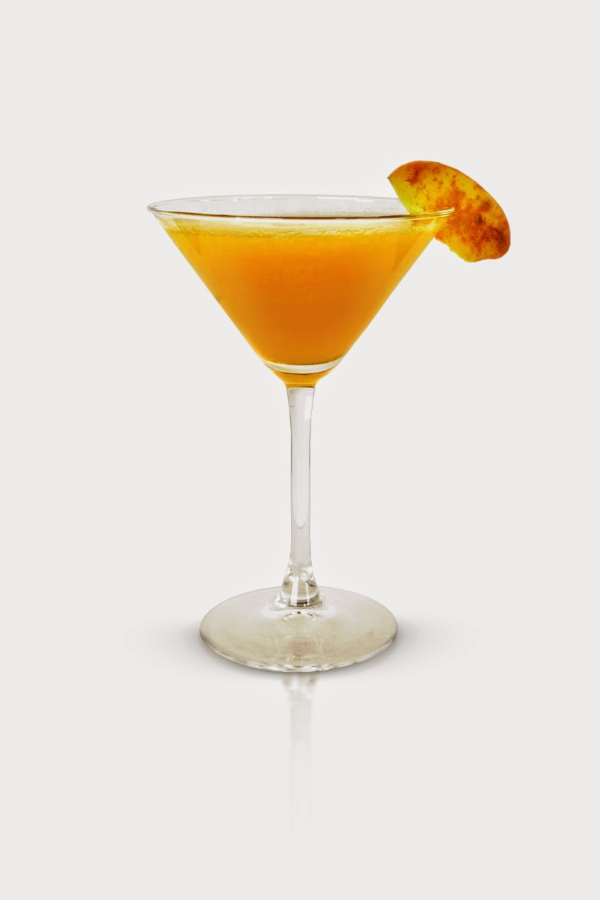 Basil Hayden's Peach Pie Cocktail