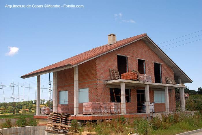 Arquitectura de casas informaci n sobre casas chalet o - Porche chalet ...