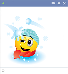 Snow Fight Emoticon