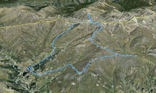 Recorregut: Santuari de Núria-Torreneules-Pic del Racó Gros
