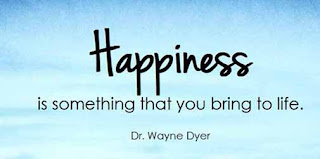 Happiness quote and saying