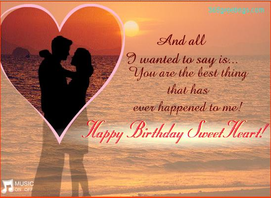 Best Birthday Wish Sms To Girlfriend Funny Love Sad Wishes For