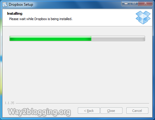 How to Host Your Blogger Script and Files on DropBox for Free - Step2