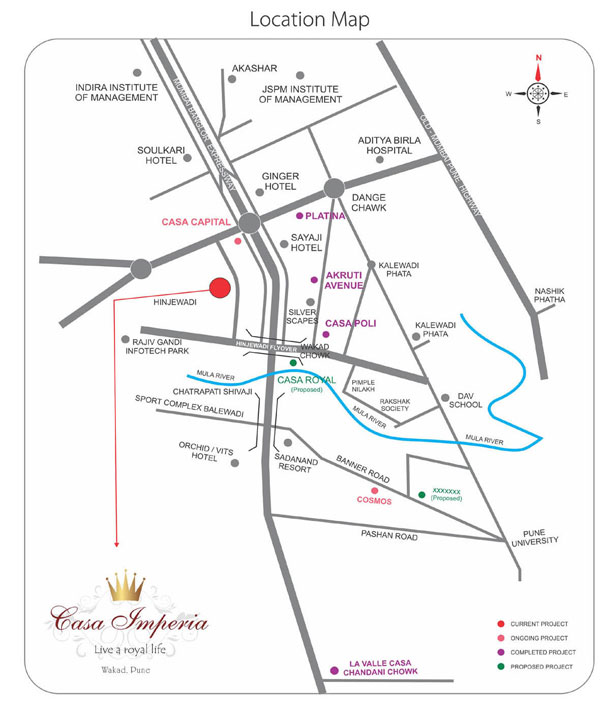 pune new properties  casa imperia 2 bhk homes at wakad pune