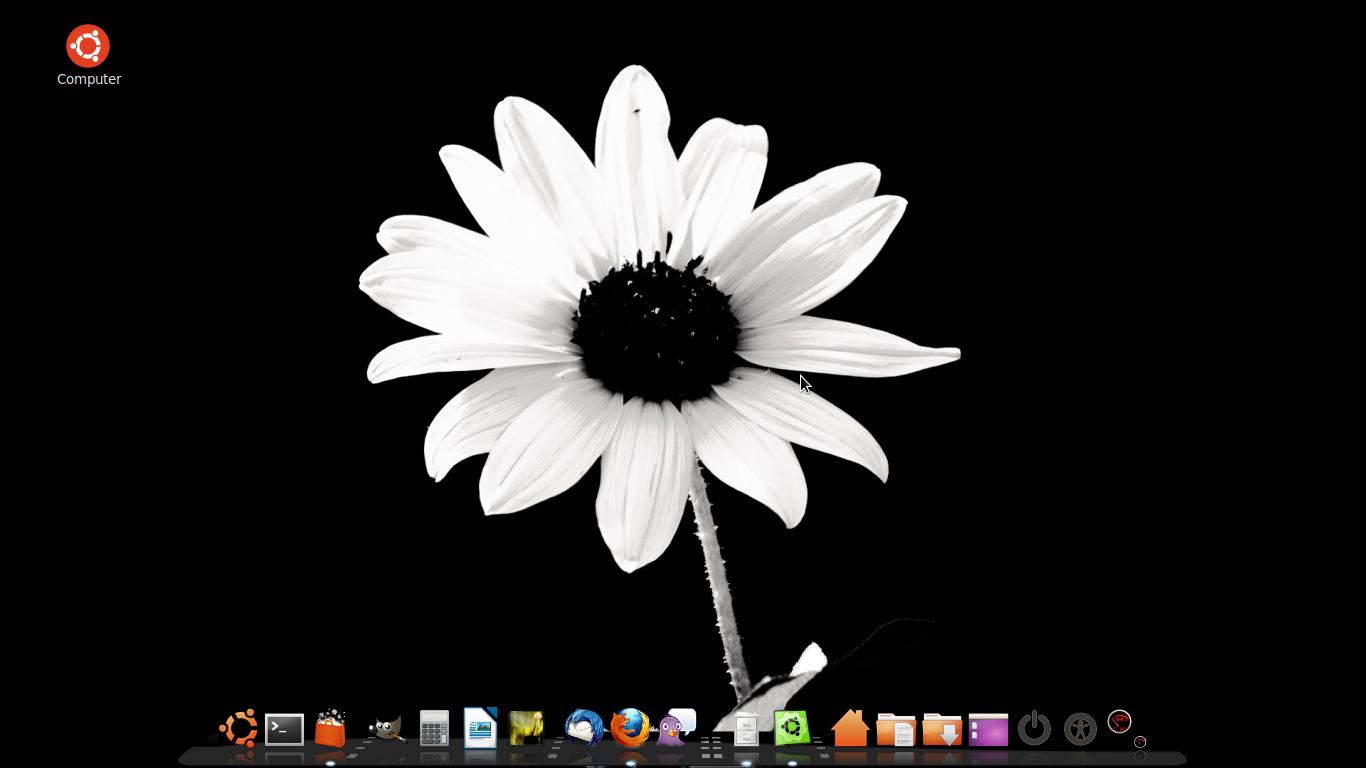 linux mint with cairo dock