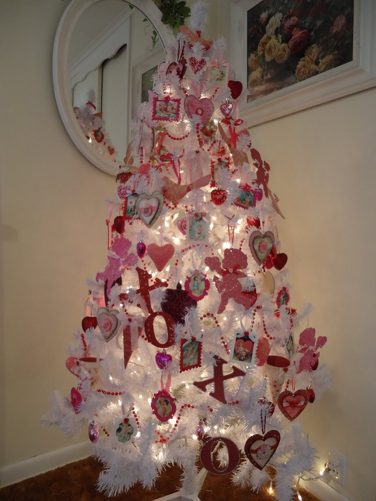 Valentine tree ornaments - Tammy S Heart