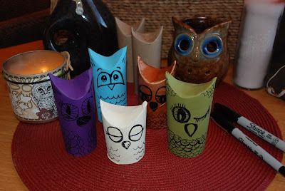 HOOTEE4+(2) - Owl Craft With Recycled Paper Rolls Is A Hoot