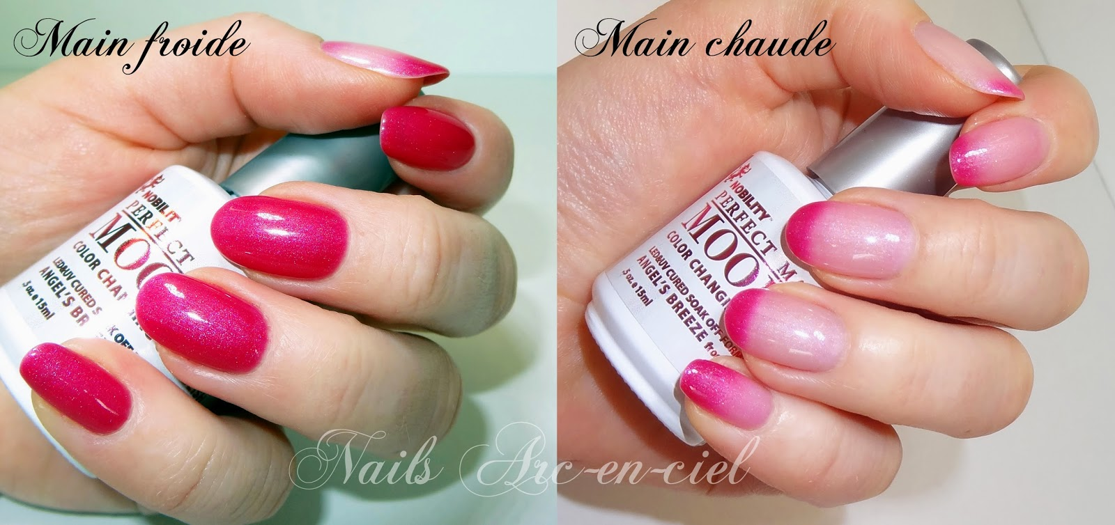 vernis semi-permanent thermosensible Lechat Angel's Breeze