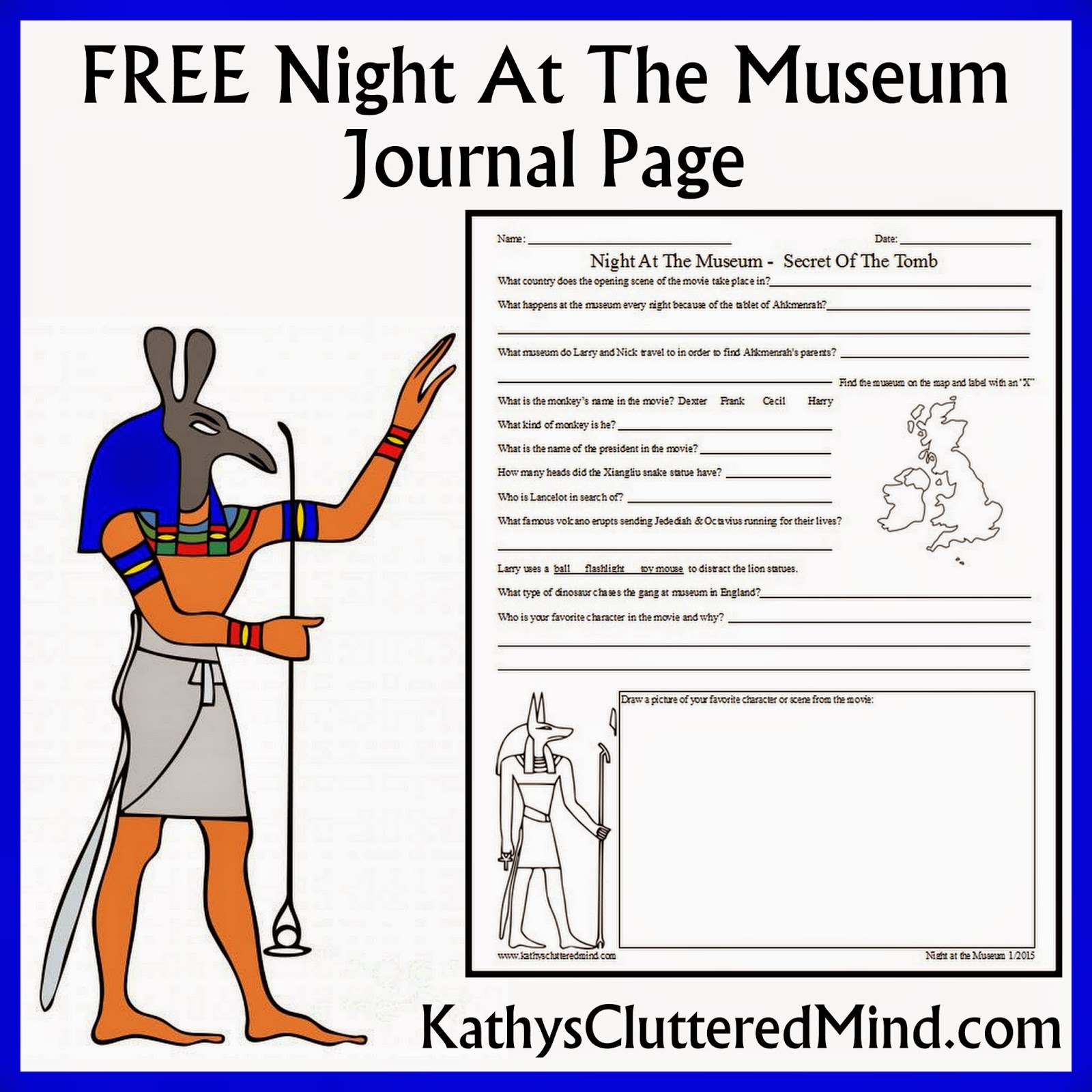 Kathys Cluttered Mind: Night At The Museum - Secret Of The Tomb ...