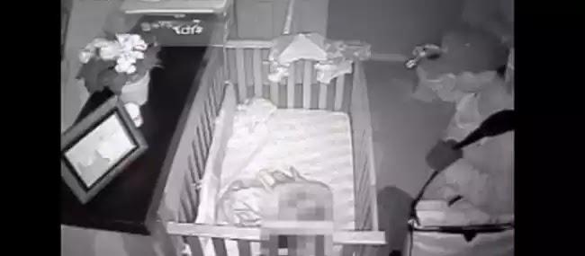 Βίντεο: Γονείς έπαθαν σοκ όταν είδαν τι είχε καταγράψει η κρυφή κάμερα στο δωμάτιο του μωρού τους