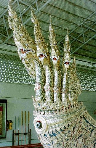 Ceremonial barges Bangkock Thailand jamestravelpictures.blogspot.com