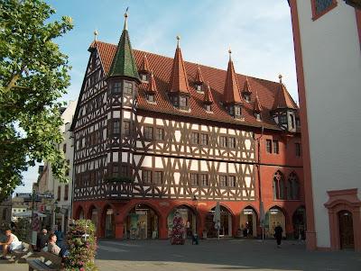 Fulda, Alemanha a cidade medieval.