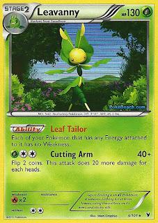 Leavanny Pokemon Card Noble Victories Set