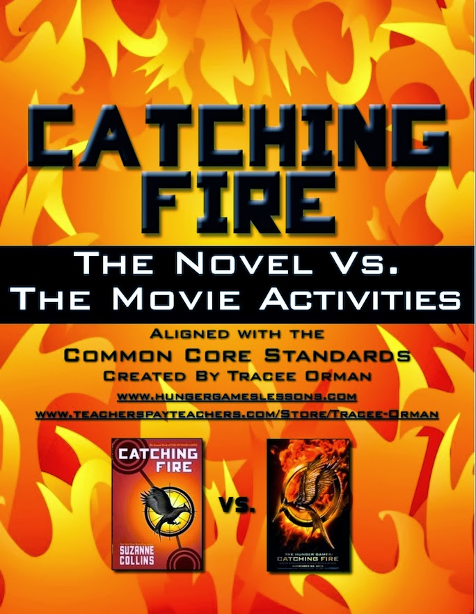 Catching Fire: Comparing the Novel to the Movie (blog post)