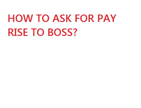 asking your boss for a raise