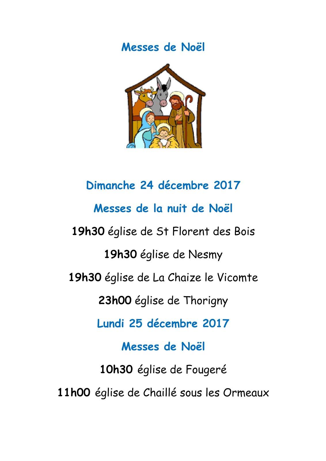 Messes de Noël