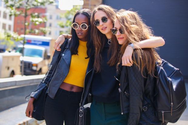 Girls in New York, September 2015