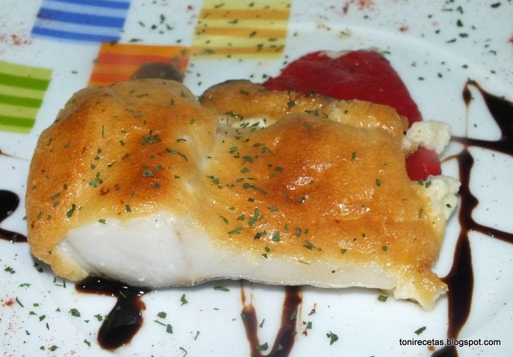 La cocina de toni bacalao gratinado con mayonesa de ajo for Como cocinar bacalao al horno
