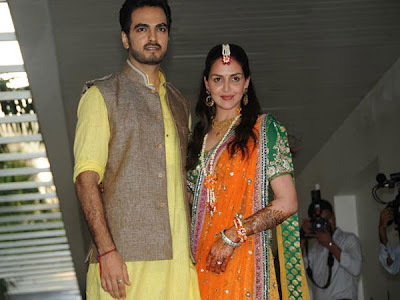 Esha Deol with Bharat