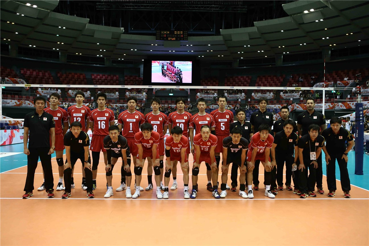 Japanese World Cup 2015 Volleyball team men