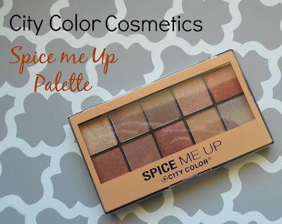 "City Color Cosmetics ""Spice Me Up Palette"""