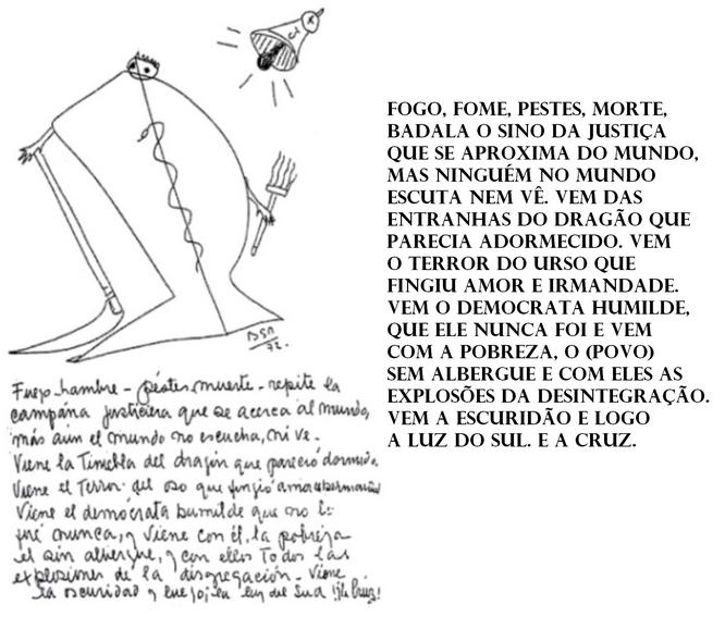 Profecia Parravicini Olimpíadas, previsão RJ