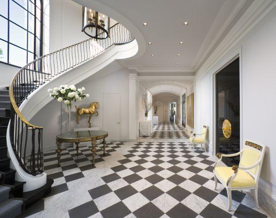 Elegant Foyer Tiles : Eye for design the timeless appeal of white foyers