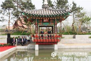 نشر الثقافة التقليدية الكورية إلى العالم.  12341234