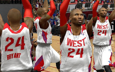 NBA 2K13 2013 West All-stars Official Home Jersey