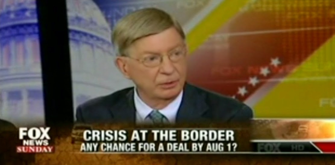 "Fox's George Will: We Should Tell Child Immigrants ""Welcome To America"""