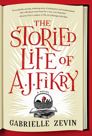 Storied Life Of AJ Fikry book cover art
