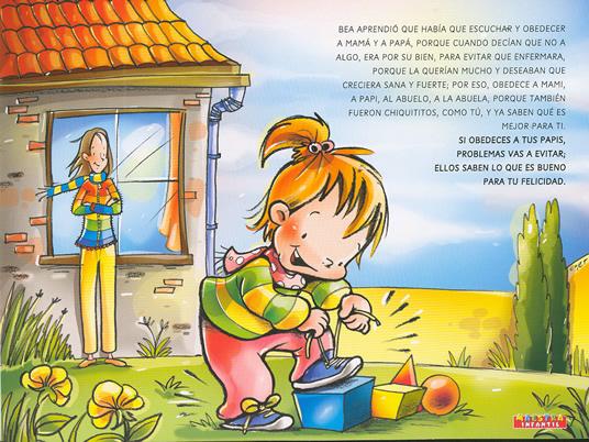 """Mi Escuela Divertida: Cuento Ilustrado """"Bea No Obedece"""""""