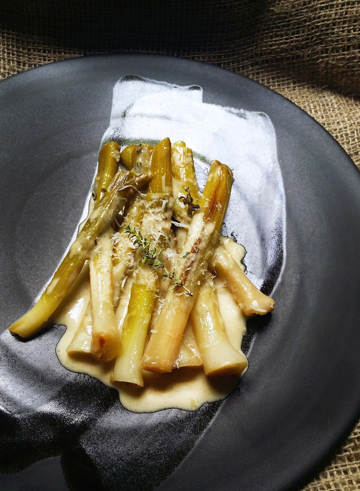 cream braised cabbage with leeks recipes dishmaps cream braised ...