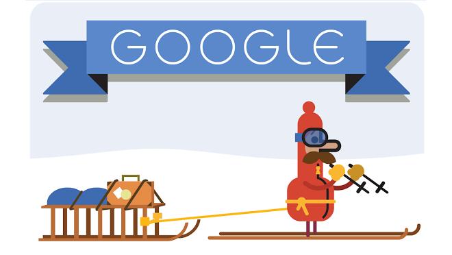 'Tis the season! Holidays 2014 (Day 2) Google Doodle