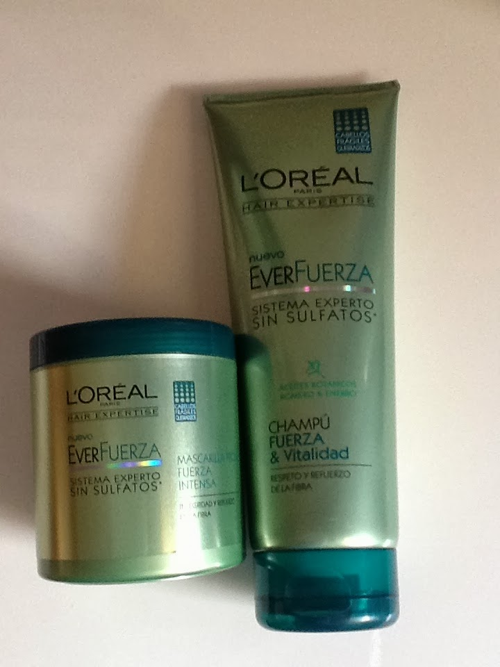 L'Óreal Everfuerza shampoo & conditioner