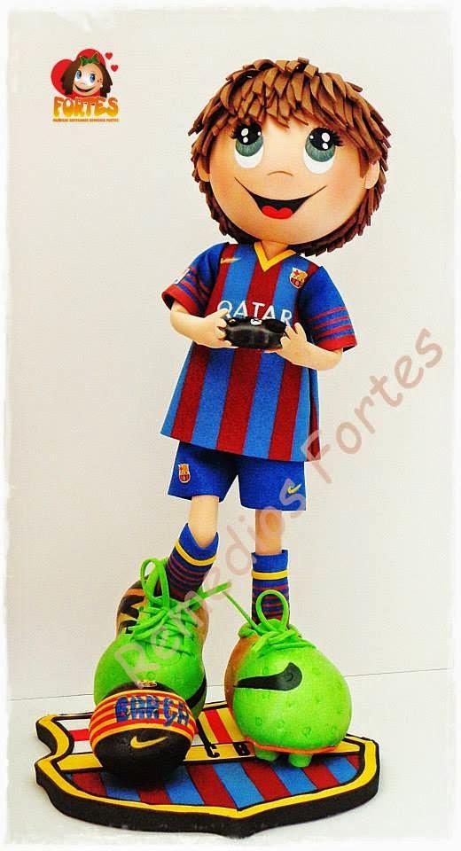 Andrés, forofo FC Barcelona