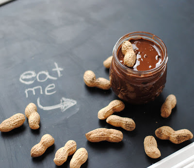 easy chocolate peanut butter spread