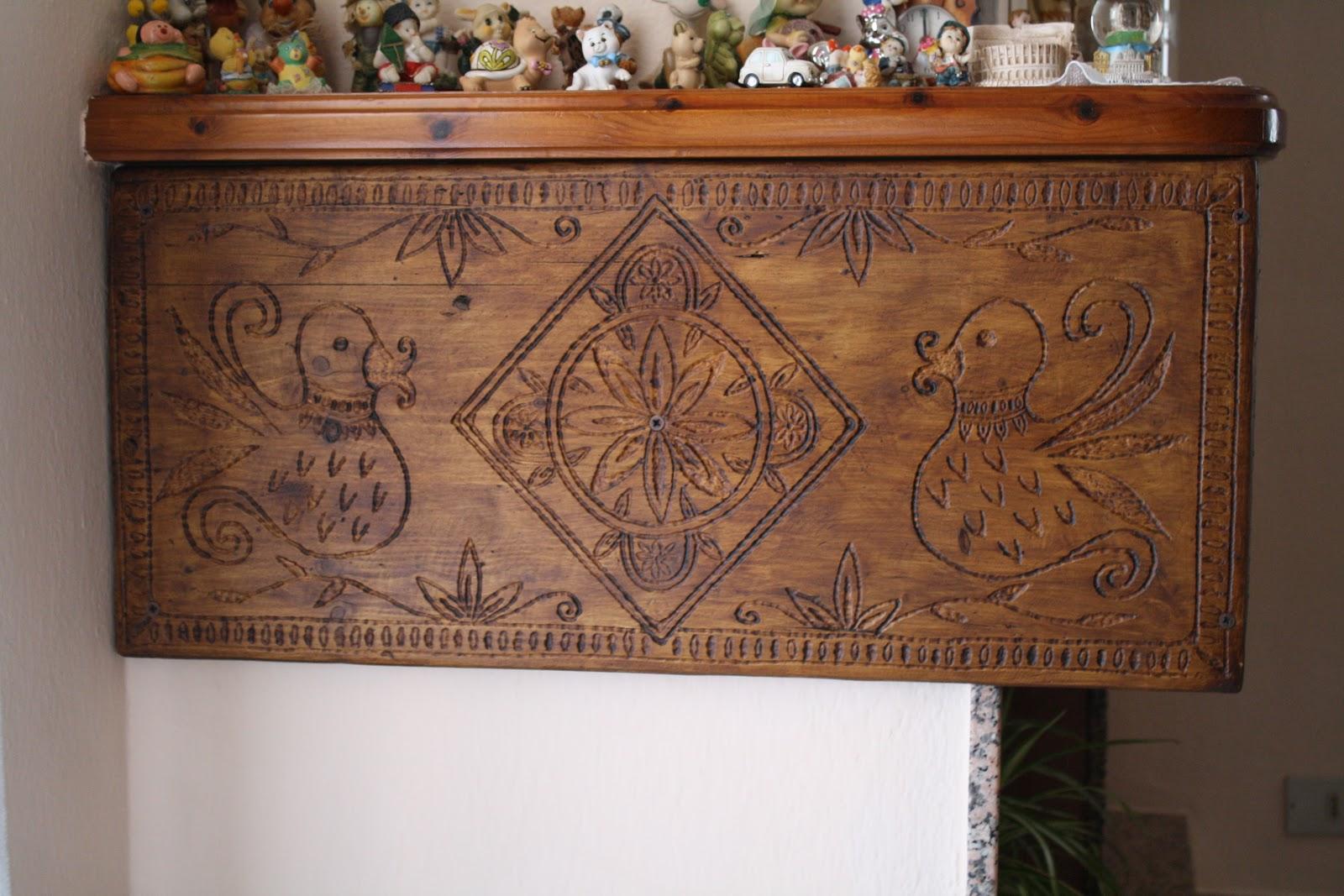 Oggetti in legno fatti a mano paristazzos piattaie in - Tavole da ponteggio usate ...