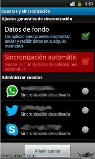 sincronizacion automatica