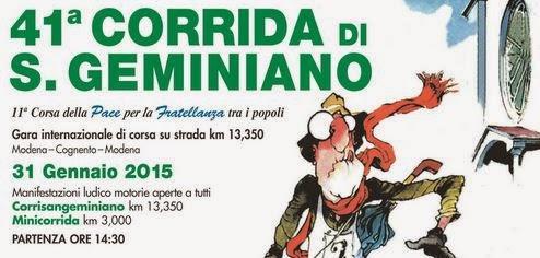 41^ Corrida di San Geminiano 2015