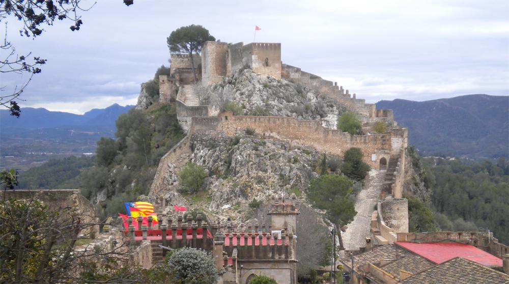 El deseo de volver.: Valencia. El Castillo de Xativa, el monasterio de Simat ...