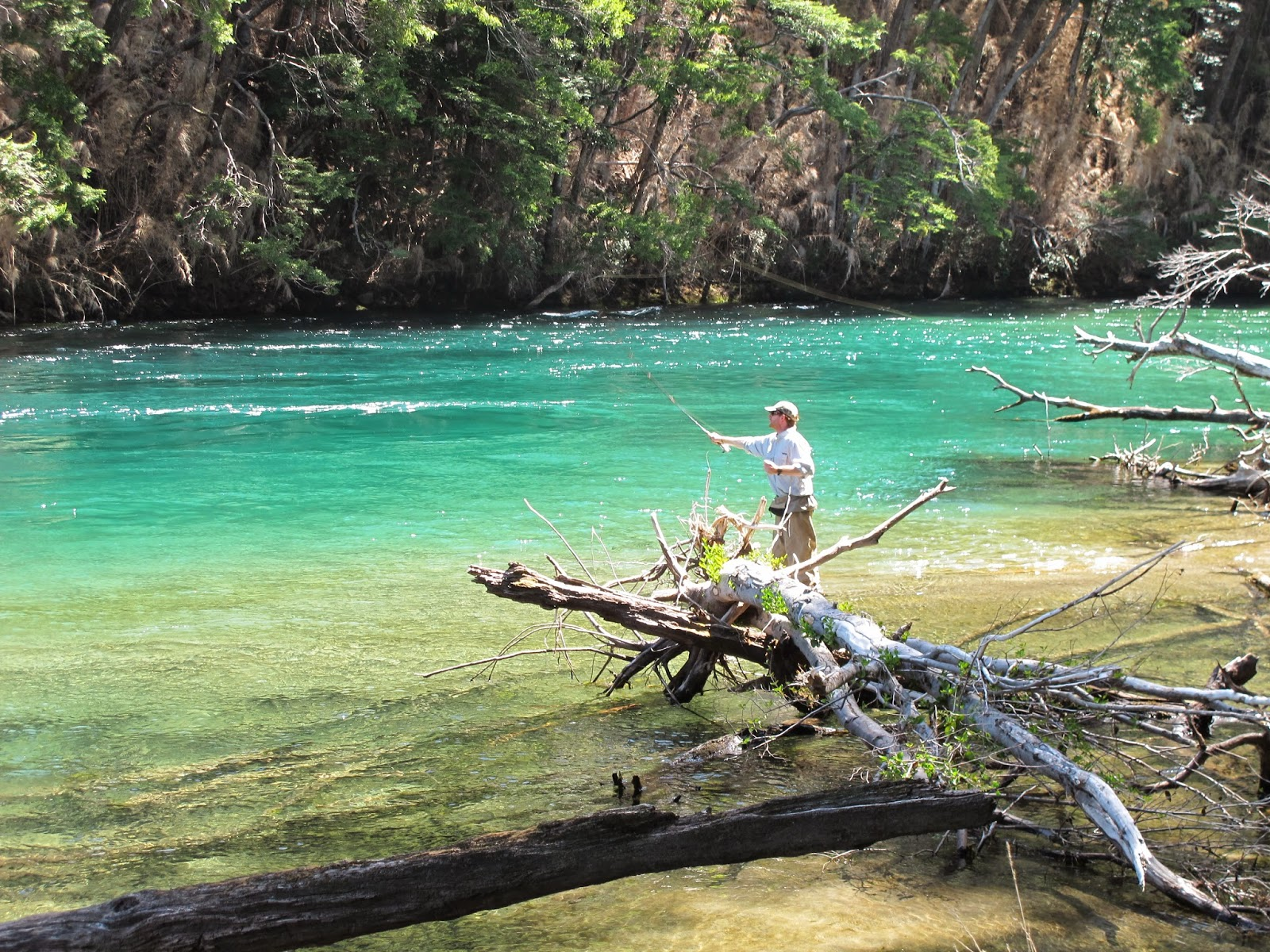 First cast fly fishing fly fishing lessons in new for Fly fishing argentina