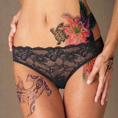 ♥ ♫ ♥ Animal Tattoo Locations On Women ♥ ♫ ♥